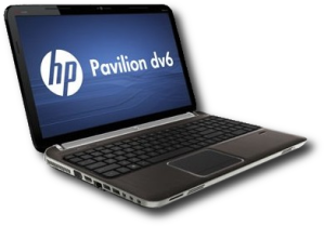 HP dv6t-6100 laptop