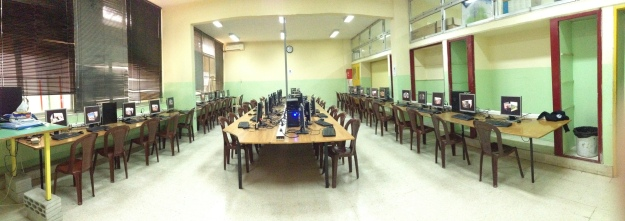 Panorama view of our multiseat Computer Center