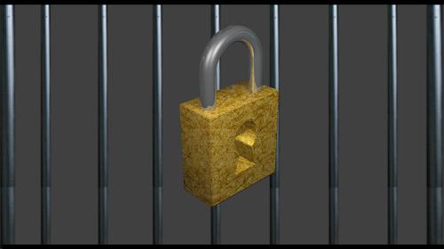 Lock by John-Paul CC BY-SA 4.0 Source