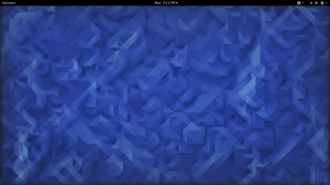 Picture of Fedora 23 desktop